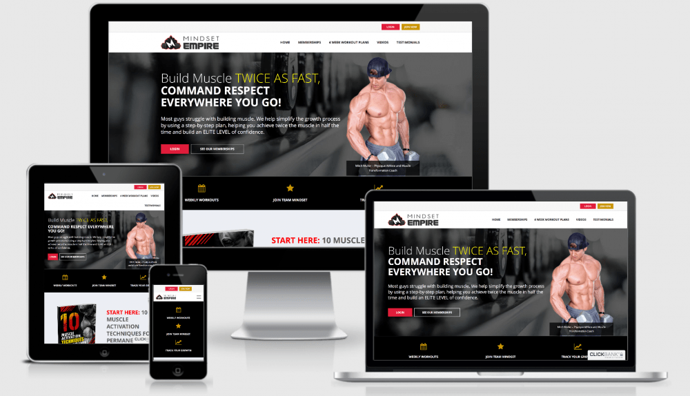 fitness web design specialists